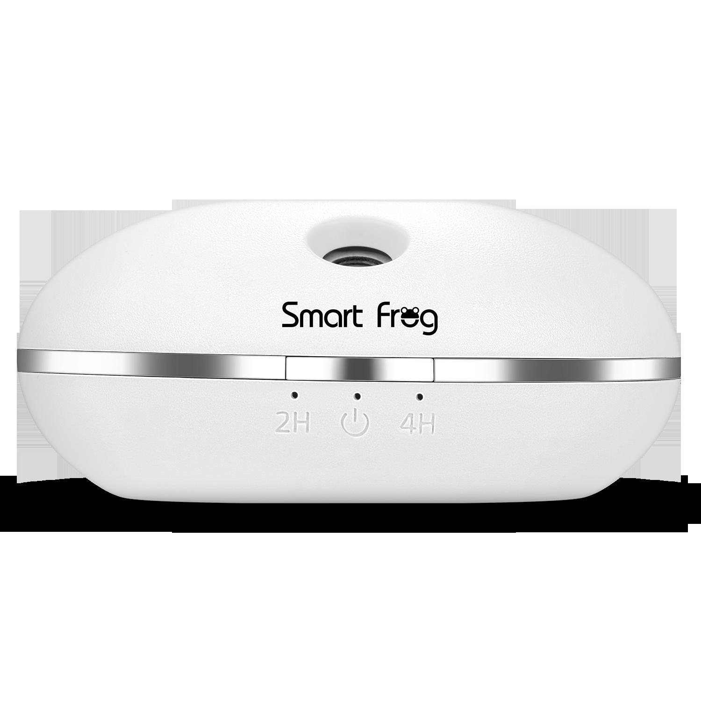 卡蛙(SmartFrog)usb加湿器 便携式小型静音迷你家用卧室办公室孕妇婴儿补水加湿小米白 水瓶座 II代 -白色