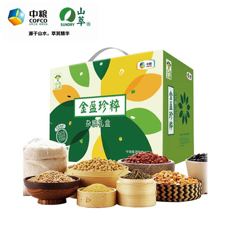 中粮金盈珍粹杂粮礼盒3600g