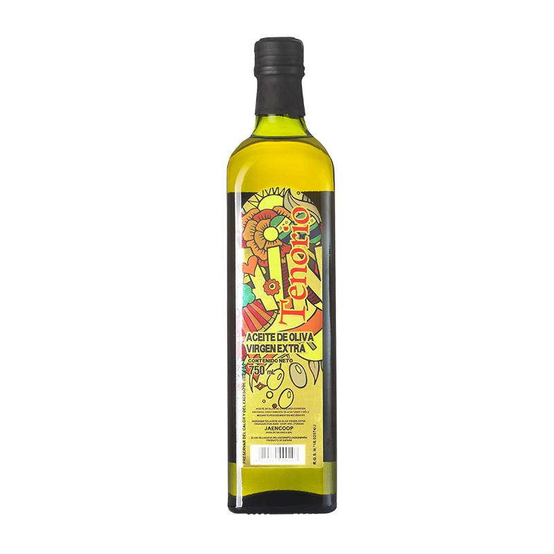 特诺娜特级初榨橄榄油750ml礼盒装原装原瓶进口